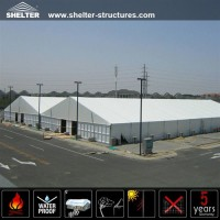 SHELTER temporary workshop - large warehouse tents - stroage tent for sale