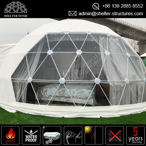 Eco Friendly Glamping Igloo Tent - Geodesic Dome Pod for Glamping Business