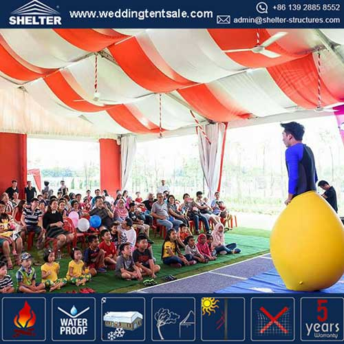 Big Top Circus Tent For Outdoor Performance/Art Show in Amusement Park