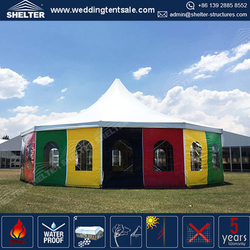 Heavy-duty Circus Marquee - Build Robust and Long Lasting Tent for Outdoor Circus